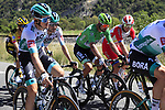 The peloton including Green Jersey Peter Sagan (SVK) Bora-Hansgrohe take it easy during Stage 5 of Tour de France 2020, running 183km from Gap to Privas, France. 2nd September 2020.<br /> Picture: Bora-Hansgrohe/BettiniPhoto   Cyclefile<br /> All photos usage must carry mandatory copyright credit (© Cyclefile   Bora-Hansgrohe/BettiniPhoto