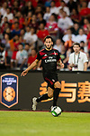 AC Milan Midfielder Hakan Calhanoglu in action during the 2017 International Champions Cup China  match between FC Bayern and AC Milan at Universiade Sports Centre Stadium on July 22, 2017 in Shenzhen, China. Photo by Marcio Rodrigo Machado / Power Sport Images