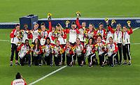 YOKOHAMA, JAPAN - AUGUST 6: Canada poses for a photo at International Stadium Yokohama on August 6, 2021 in Yokohama, Japan.