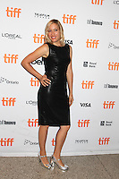 DIRECTOR MICHELLE SINCLAIR - RED CARPET OF THE FILM 'THE TERRY KATH EXPERIENCE' - 41ST TORONTO INTERNATIONAL FILM FESTIVAL 2016 . 15/09/2016. # FESTIVAL INTERNATIONAL DU FILM DE TORONTO 2016