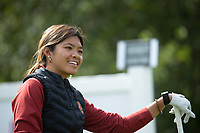STANFORD, CA - APRIL 24: Brianna Navarosa at Stanford Golf Course on April 24, 2021 in Stanford, California.