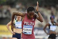 Ayomide Folorunso of Italy prepares to compete in the 200m Women during the Wanda  Diamond League Golden Gala meeting at the Luigi Ridolfi stadium in Florence, Italy, June 10th, 2021. Photo Andrea Staccioli / Insidefoto