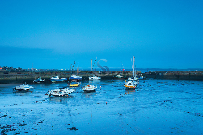 Fisherrow Harbour at dawn, East Lothian<br /> <br /> Copyright www.scottishhorizons.co.uk/Keith Fergus 2012 All Rights Reserved