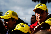 ZIPAQUIRA - COLOMBIA, 07-08-2019: Ambiente en la ciudad de Zipaquirá hoy, 7 de agosto de 2019, previo al homenaje a Egan Bernal, ciclista colombiano, por el triunfo en el Tour de Francia 2019. / General atmosphere at Zipaquira today, August 7, 2019, prior the tribute to Egan Bernal, Colombian cyclist, for his victory in the Tour de France 2019. Photo: VizzorImage / Diego Cuevas / Cont