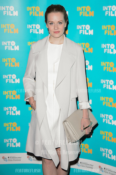 Cara Theobold arrives for the Into Film Awards 2015 at the Empire Leicester Square, London. 24/03/2015 Picture by: Steve Vas / Featureflash