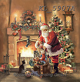 CHRISTMAS SANTA, SNOWMAN, WEIHNACHTSMÄNNER, SCHNEEMÄNNER, PAPÁ NOEL, MUÑECOS DE NIEVE,chimney,presents, paintings+++++,KL5907A,#x#