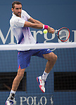 Marin Cilic (CRO) takes the first two sets against Jo-Wilfried Tsonga (FRA) 6-4, 6-4