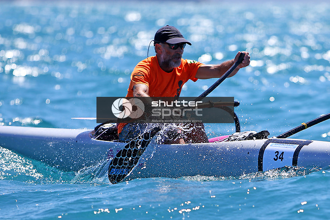 NELSON, NEW ZEALAND -FEBRURARY 13: Kaiteriteri to Mapua Surf Ski Race  Saturday 20 February 2021,Nelson New Zealand. (Photo by Evan Barnes Shuttersport Limited) 34