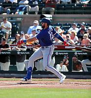 Joey Gallo - Texas Rangers 2020 spring training (Bill Mitchell)