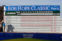 The final scoreboard of The 2010 Bob Hope Classic is nothing but red... red numbers for the top ten leaders...