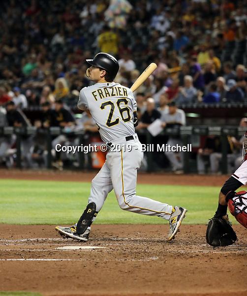 Adam Frazier - 2019 Pittsburgh Pirates (Bill Mitchell)