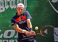 Zandvoort, Netherlands, 05 June, 2016, Tennis, Playoffs Competition, Tallon Griekspoor (NED)<br /> Photo: Henk Koster/tennisimages.com