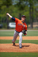 Houston Astros Andrew Walter (75) during a minor league Spring Training game against the Detroit Tigers on March 30, 2016 at Tigertown in Lakeland, Florida.  (Mike Janes/Four Seam Images)