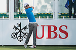 Terrence Ng of Hong Kong tees off the first hole during the 58th UBS Hong Kong Golf Open as part of the European Tour on 08 December 2016, at the Hong Kong Golf Club, Fanling, Hong Kong, China. Photo by Marcio Rodrigo Machado / Power Sport Images