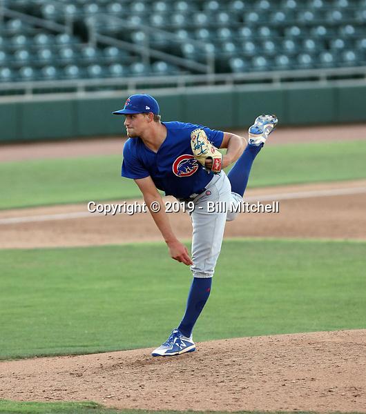 Jake Reindl - 2019 AZL Cubs (Bill Mitchell)