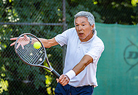 Hilversum, The Netherlands,  August 23, 2019,  Tulip Tennis Center, NSK, Rolf Thung (NED)<br /> Photo: Tennisimages/Henk Koster
