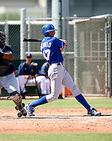 Paulo Orlando / Kansas City Royals 2008 Instructional League..Photo by:  Bill Mitchell/Four Seam Images