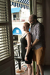 A photo shoot to commemorate Heather and Lloyd's 10th wedding anniversary in Old Havana.