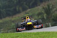 Australian  Mark Webber  on  Redbull Renaul RB8.24/03/2012 Grand Prix Malesia, Sepang , Essais..Foto Insidefoto  /Bernard Asset / Panoramic.ITALY ONLY..