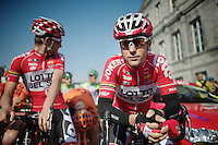 Tony Gallopin (FRA/Lotto-Belisol) at the start<br /> <br /> Amstel Gold Race 2014