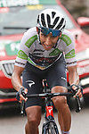 White Jersey Egan Bernal (COL) Ineos Grenadiers attacks on the second time up La Collada Llomena during Stage 17 of La Vuelta d'Espana 2021, running 185.8km from Unquera to Lagos de Covadonga, Spain. 1st September 2021.    <br /> Picture: Luis Angel Gomez/Photogomezsport   Cyclefile<br /> <br /> All photos usage must carry mandatory copyright credit (© Cyclefile   Luis Angel Gomez/Photogomezsport)