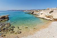 Spilia beach of Koufonissi island in Cyclades, Greece