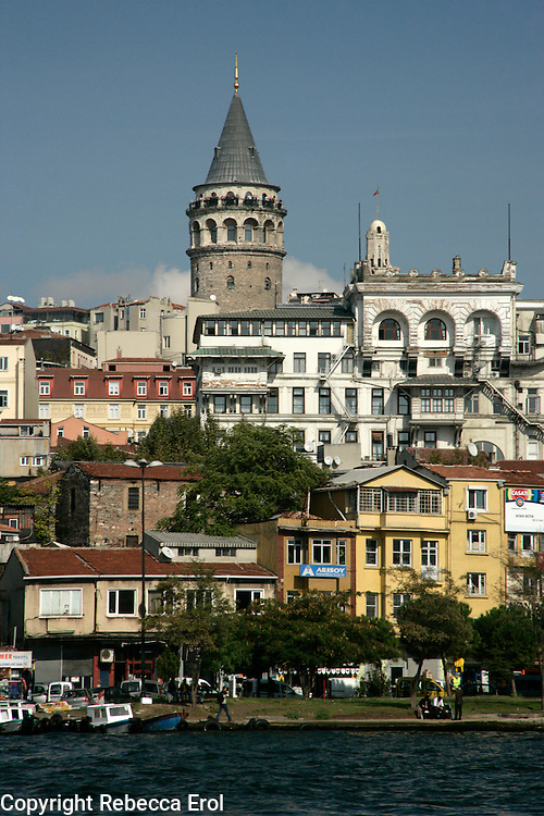 Galata Tower and the Golden Horn, Istanbul, Turkey