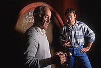 Europe/France/Rhône-Alpes/69/Rhône/Morance: Antoine Lassalle et son fils Pierre (AOC Beaujolais)