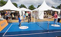 Netherlands, Rosmalen , June 08, 2015, Tennis, Topshelf Open, Autotron, Volley Challenge<br /> Photo: Tennisimages/Henk Koster