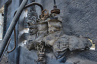 Abandoned chemical plant for fodder phosphate in the former GDR.<br /> 8.12.2013<br /> Copyright: Christian-Ditsch.de<br /> [Inhaltsveraendernde Manipulation des Fotos nur nach ausdruecklicher Genehmigung des Fotografen. Vereinbarungen ueber Abtretung von Persoenlichkeitsrechten/Model Release der abgebildeten Person/Personen liegen nicht vor. NO MODEL RELEASE! Don't publish without copyright Christian-Ditsch.de, Veroeffentlichung nur mit Fotografennennung, sowie gegen Honorar, MwSt. und Beleg. Konto: I N G - D i B a, IBAN DE58500105175400192269, BIC INGDDEFFXXX, Kontakt: post@christian-ditsch.de<br /> Urhebervermerk wird gemaess Paragraph 13 UHG verlangt.]