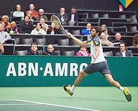 11-02-13, Tennis, Rotterdam, ABNAMROWTT, Gilles Simon