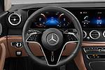 Car pictures of steering wheel view of a 2021 Mercedes Benz E-Class All-terrain-Avantgarde 5 Door Wagon Steering Wheel