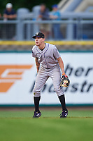 Grand Junction Rockies shortstop Christian Koss (36) during a Pioneer League game against the Billings Mustangs at Dehler Park on August 14, 2019 in Billings, Montana. Grand Junction defeated Billings 8-5. (Zachary Lucy/Four Seam Images)