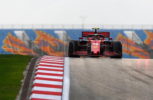 13th November 2020; Istanbul Park, Istanbul, Turkey; FIA Formula One World Championship 2020, Grand Prix of Turkey, Free practise sessions;  16 Charles Leclerc MCO, Scuderia Ferrari Mission Winnow
