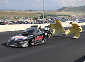 NHRA Mello Yello Drag Racing Series<br /> Mopar Mile-High NHRA Nationals<br /> Bandimere Speedway, Morrison, CO USA<br /> Saturday 22 July 2017 Del Worsham, Lucas Oil, Camry, funny car<br /> <br /> World Copyright: Mark Rebilas<br /> Rebilas Photo