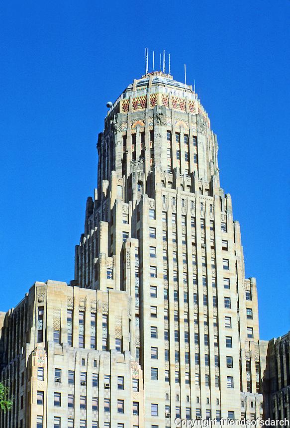 Buffalo: City Hall, 1929-31. Chief designer John J. Wade. Photo '88.