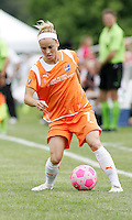 Kelly Parker..Saint Louis Athletica defeated Sky Blue FC 1-0 at Anheuser-Busch Soccer Park, Fenton, Missouri.