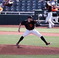 Jimmie Sherfy - San Francisco Giants 2021 spring training (Bill Mitchell)