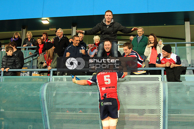 Tasman Makos vs Otago  ITM Cup match held at Trafalgar Park, Nelson 6th September 2013. Final Score 49-16 to the Makos . Photo Gavin Hadfield / Shuttersport