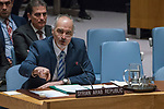 Security Council Holds Emergency Meeting on Syria