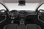 Stock photo of straight dashboard view of 2019 KIA Ceed More 5 Door Hatchback Dashboard