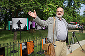 Reinhard Wentz.  Opening of the newly re-landscaped speaking area at Speakers' Corner, Hyde Park, London.