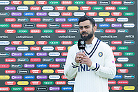 Virat Kohli, India at the post match presentation during India vs New Zealand, ICC World Test Championship Final Cricket at The Hampshire Bowl on 23rd June 2021