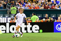PHILADELPHIA, PA - AUGUST 29: Matilde Fidalgo #5 of Portugal during a game between Portugal and USWNT at Lincoln Financial Field on August 29, 2019 in Philadelphia, PA.