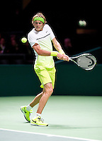 Februari 09, 2015, Netherlands, Rotterdam, Ahoy, ABN AMRO World Tennis Tournament, Alexander Zverev (GER) <br /> Photo: Tennisimages/Henk Koster