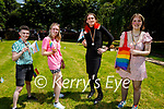 Enjoying the Pride Celebrations in Pearce Park, Tralee on Saturday, l to r: Saoirse Sayers, Aoife Sheehan, Josie McLoughlan and Kate Moore.