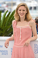 CANNES, FRANCE. July 12, 2021: Mia Hansen-Love at the photocall for Bergman Island at the 74th Festival de Cannes.<br /> Picture: Paul Smith / Featureflash