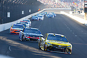 Monster Energy NASCAR Cup Series<br /> Brickyard 400<br /> Indianapolis Motor Speedway, Indianapolis, IN USA<br /> Sunday 23 July 2017<br /> Daniel Suarez, Joe Gibbs Racing, STANLEY Toyota Camry and Kasey Kahne, Hendrick Motorsports, Chevrolet SS<br /> World Copyright: Russell LaBounty<br /> LAT Images