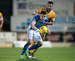 St Johnstone v Motherwell…17.12.16     McDiarmid Park    SPFL<br />Graham Cummins<br />Picture by Graeme Hart.<br />Copyright Perthshire Picture Agency<br />Tel: 01738 623350  Mobile: 07990 594431
