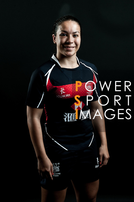 Rose Fong poses during the Hong Kong 7's Squads Portraits on 5 March 2012 at the King's Park Sport Ground in Hong Kong. Photo by Andy Jones / The Power of Sport Images for HKRFU